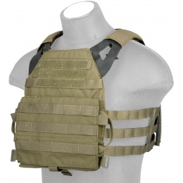 AMA Versatile Light Scout Airsoft Tactical Vest - RANGER GREEN