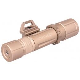 OPSMEN Tactical 1000-Lumen Picatinny Weapon Light - TAN
