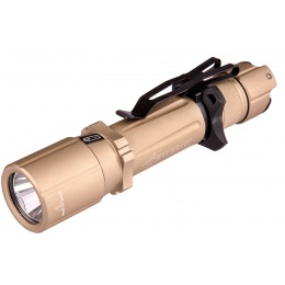 OPSMEN Tactical 1000-Lumen Strobe Flashlight - TAN