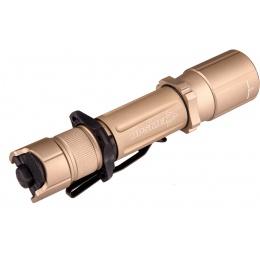 OPSMEN Tactical 1000-Lumen Strobe Flashlight - TAN