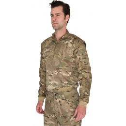 Lancer Tactical Shoulder Armor Breathable Jersey - CAMO DESERT