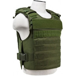 NcStar Tactical Airsoft MOLLE Tactical Vest - OD