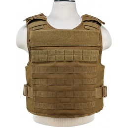 NcStar Tactical Airsoft MOLLE Tactical Vest - TAN