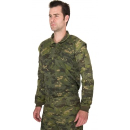 Lancer Tactical Shoulder Armor Breathable Jersey - CAMO TROPIC