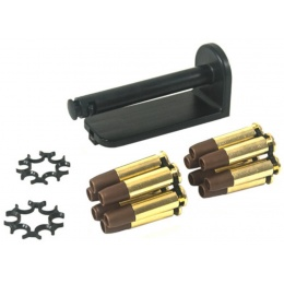 ASG Dan Wesson Licensed Moon Clip 12 round Set for 715 CO2 Revolver