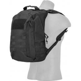Lancer Tactical MOLLE Adhesion Scout Arms Backpack - BLACK