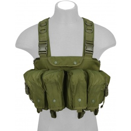 Lancer Tactical Fully Adjustable AK Chest Rig - OD