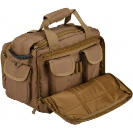 Lancer Tactical 1000D Nylon Small Range MOLLE Bag - KHAKI