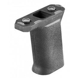 AIM Sports Keymod Polymer Ergonomic Vertical Forward Grip - BLACK