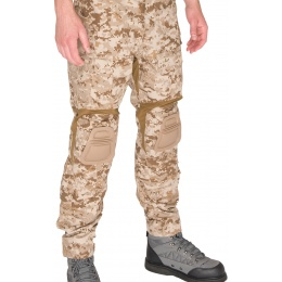 AMA BDU Trousers w/ Kneepads - DESERT DIGITAL