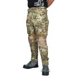 AMA BDU Trousers w/ Kneepads - CAMO