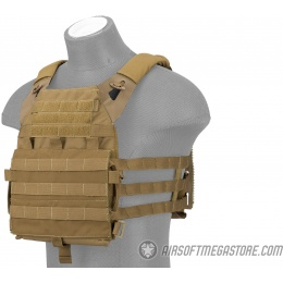 AMA Versatile Light Scout Airsoft Tactical Vest - COYOTE BROWN