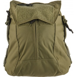 TMC Zipper Back Panel Attachment Backpack - RANGER GREEN