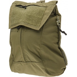 TMC Zipper Back Panel Attachment Backpack - RANGER GREEN