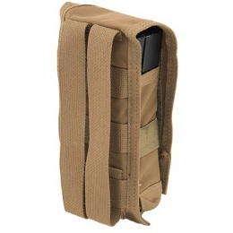 TMC C Double M4 MOLLE Vertical Tactical Pouch - COYOTE BROWN