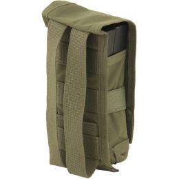 TMC C Double M4 MOLLE Vertical Tactical Pouch - RANGER GREEN