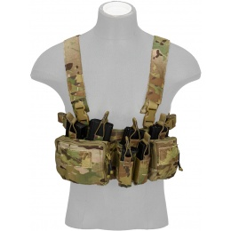 AMA Tactical Airsoft QD Lightweight Chest Rig  - CAMO