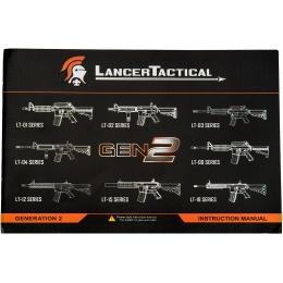 Lancer Tactical MK 18 MOD CQB Gen 2 Low FPS AEG Airsoft Rifle - BLACK