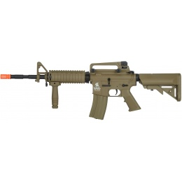 Lancer Tactical Gen. 2 M4 RIS LT-04T Airsoft Gun AEG Rifle - DARK EARTH