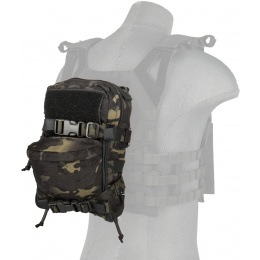TMC Airsoft Mini MOLLE Hydration Pack - CAMO BLACK