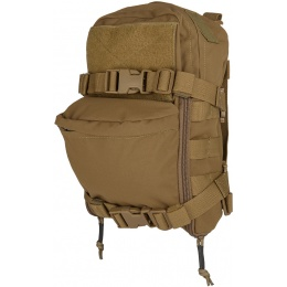 TMC Airsoft Mini MOLLE Hydration Pack - COYOTE BROWN