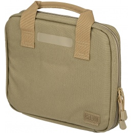 5.11 Tactical Single Pistol Carry Case - SANDSTONE