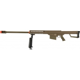 Lancer Tactical Airsoft M82 Spring Rifle w/ Bipod - DARK EARTH