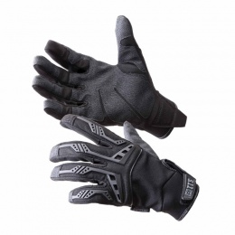 5.11 Tactical Scene One Thermoplastic Rubber Gloves - BLACK