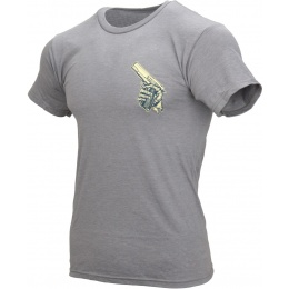 5.11 Tactical Cold Dead Hands 45 T-Shirt - GREY HEATHER
