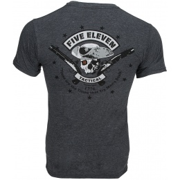 5.11 Tactical Premium Mobility Patriot T-Shirt - CHARCOAL HEATHER