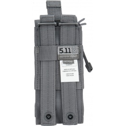 5.11 Tactical Single M4 Bungee Magazine Pouch - STORM