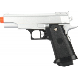 UK Arms G10S Metal Spring Powered Pistol - SILVER