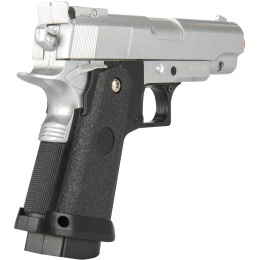 UK Arms G10S Metal Spring Powered Pistol - SILVER