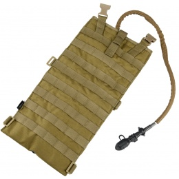 AMA Tactical Airsoft EG Style 2 Liter MOLLE Hydration Pouch - TAN