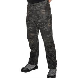 Lancer Tactical Resistors Outdoor Recreational Pants - CAMO BLACK