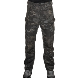 Lancer Tactical Resistors Outdoor Recreational Pants - CAMO BLACK