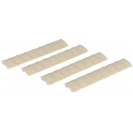 DBoys Airsoft Full Length Tactical Weaver/Picatinny Rail Panels - TAN