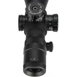 Aim Sports Titan Dual 3-9X40mm Rifle Scope w/ 3/4 Reticle - BLACK