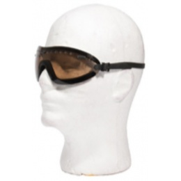 AMA Airsoft Low Profile Regulate Eye Goggles - TEA BROWN