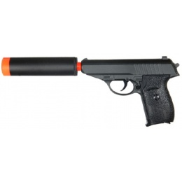 UK Arms G3A Metal Spring Powered Airsoft Pistol - BLACK