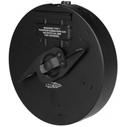 Airsoft Thompson AEG 450rd Metal High Capacity Drum Magazine