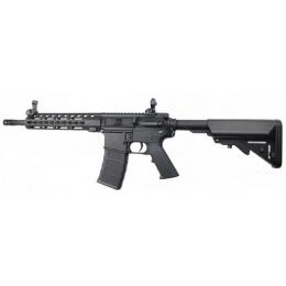 Classic Army Airsoft KM10 Skirmish Line M4 AEG Rifle - BLACK