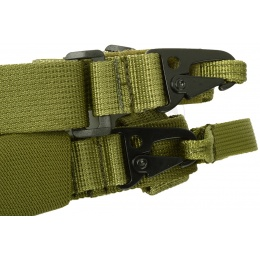 G-Force OpSpec 3-Point Adjustable CQB Sling OD GREEN - [DT206G]