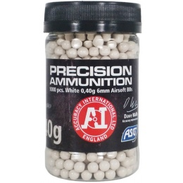 ASG Precision Ammo Heavy 0.40 Gram 6mm Airsoft BBs - WHITE