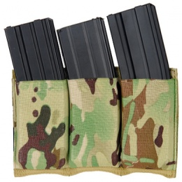 AMA Airsoft Triple M4/M16 Magazine Pouch - MULTICAM