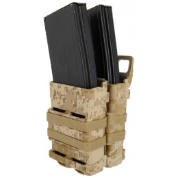 AMA Airsoft Double M4/M16 Magazine Pouch - DESERT DIGITAL