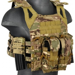 AMA Airsoft Double M4/M16 Magazine Pouch - DESERT DIGITAL