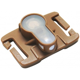 AMA Airsoft Tactical MOLLE System Strobe Light - WHITE/DARK EARTH