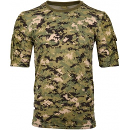 Lancer Tactical Specialist Adhesion Arms T-Shirt - WOODLAND DIGITAL
