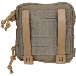 Mil-Spec Monkey Stealth Utility Admin Pouch - RANGER GREEN